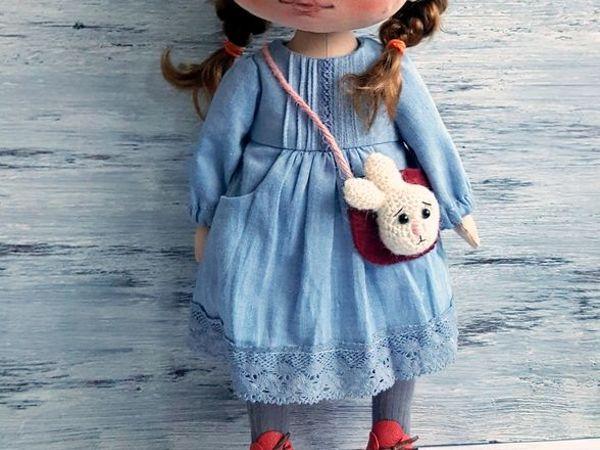 Шьем платье с карманами для куклы | Ярмарка Мастеров - ручная работа, handmade