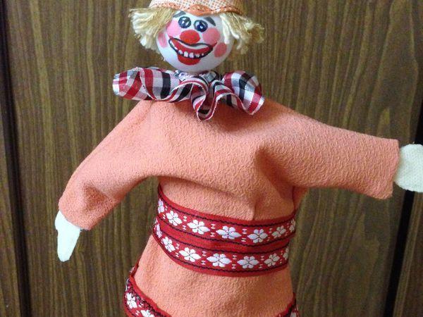 Делаем куклу из кулёчка | Ярмарка Мастеров - ручная работа, handmade