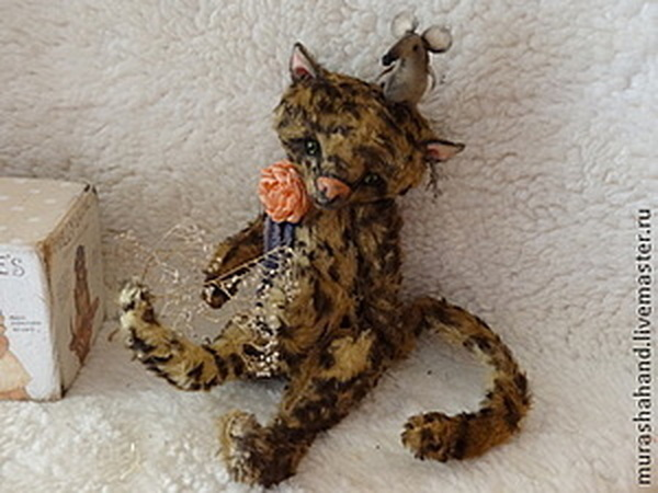 Аукцион на Тедди котика, заканчивается сегодня | Ярмарка Мастеров - ручная работа, handmade