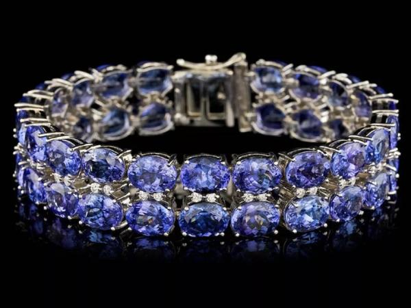 Танзанит: идеальный синий драгоценный камень   Ярмарка Мастеров - ручная работа, handmade