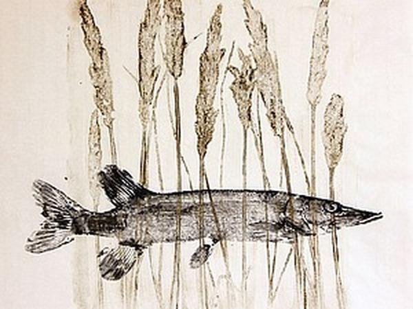 Гуотаку: рыбы в традиционном японском искусстве | Ярмарка Мастеров - ручная работа, handmade
