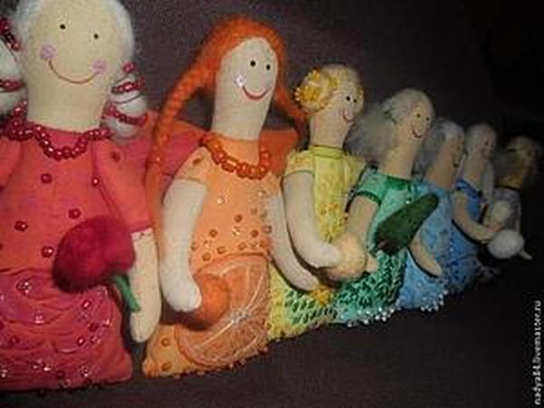 Мастер-класс: текстильная кукла Ангел (примитив)   Ярмарка Мастеров - ручная работа, handmade