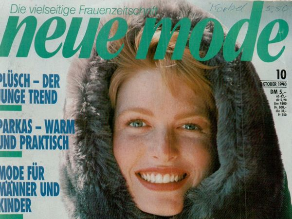 Neue mode 10 1990 (октябрь)   Ярмарка Мастеров - ручная работа, handmade