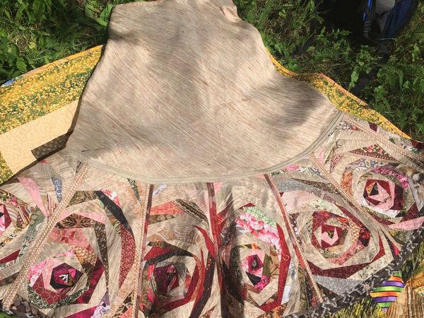 Как сшить лоскутную юбку из дикого шелка. Часть 3   Ярмарка Мастеров - ручная работа, handmade
