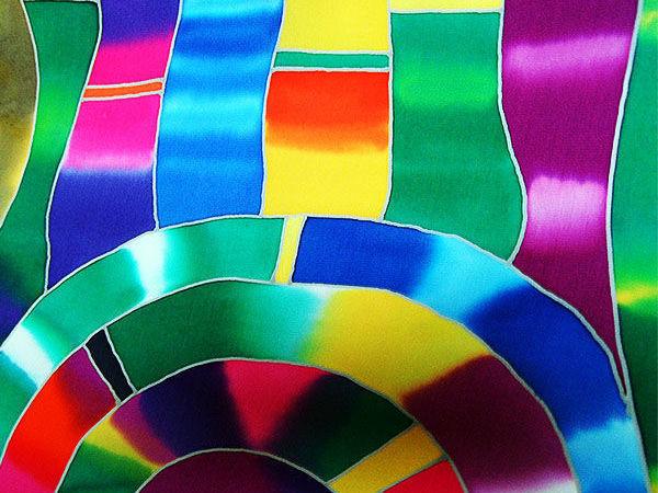 Предновогодние СКИДКИ на шёлковые платки с ручной росписью! | Ярмарка Мастеров - ручная работа, handmade