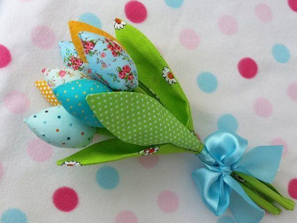 Весенний букетик в подарок! Творческий конкурс! | Ярмарка Мастеров - ручная работа, handmade