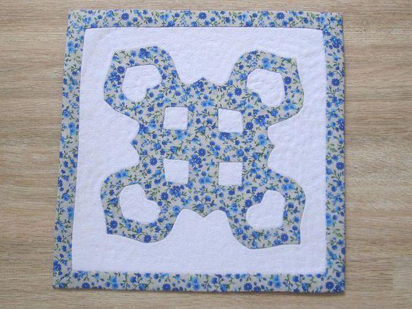 «Как сохранить снежинку»: декоративная салфетка по мотивам гавайской вышивки   Ярмарка Мастеров - ручная работа, handmade