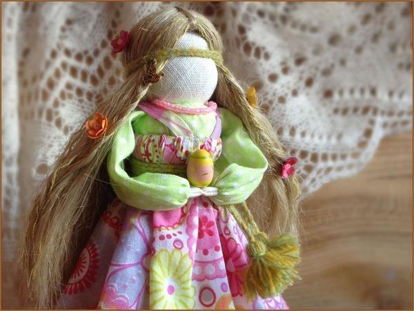 Мастер-класс по созданию куколки Радуницы | Ярмарка Мастеров - ручная работа, handmade