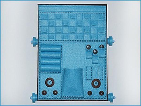 Создаем из фетра органайзер для украшений | Ярмарка Мастеров - ручная работа, handmade