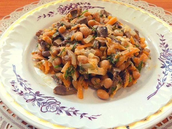 Готовим салат из куриной печени   Ярмарка Мастеров - ручная работа, handmade