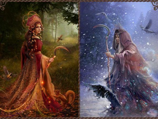 Исторический обзор образа богини Мораны в фольклоре славянских народов   Ярмарка Мастеров - ручная работа, handmade