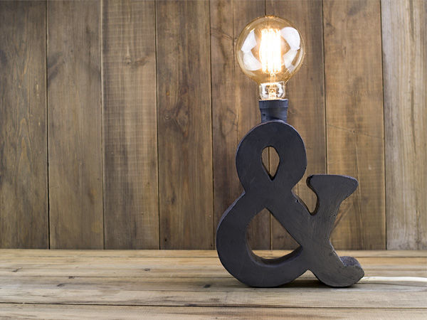 Делаем дизайнерскую настольную лампу в стиле лофт | Ярмарка Мастеров - ручная работа, handmade