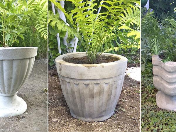 Video Tutorial: Making Cement Pots for Garden | Livemaster - handmade