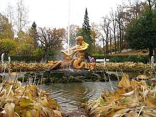 Осенняя прогулка в нижнем парке Петродворца и закрытие фонтанов. | Ярмарка Мастеров - ручная работа, handmade