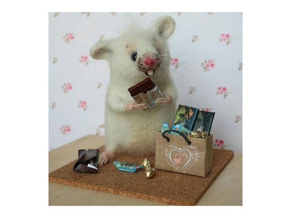 Как Мышонок подарок получил   Ярмарка Мастеров - ручная работа, handmade