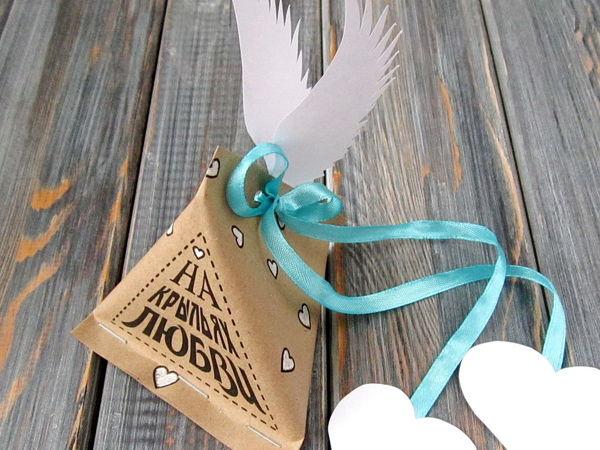 Мастерим упаковку для подарка — Крылатый Сюрприз | Ярмарка Мастеров - ручная работа, handmade