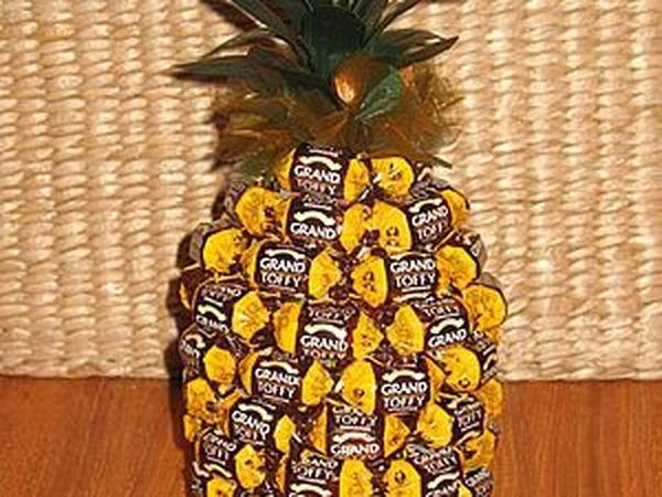Букеты из конфет. Композиция