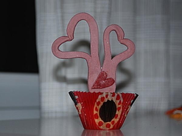 Сладкие сердечки из мастики | Ярмарка Мастеров - ручная работа, handmade