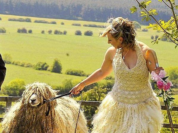 Unusual Wedding in Little Shepherds Style of Bo Peep | Livemaster - handmade