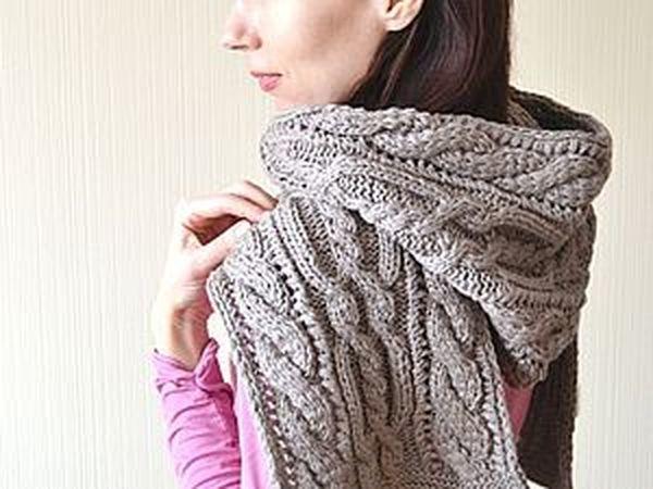 Бронза-шарф-капюшон,  (и немного о значении слова башлык) | Ярмарка Мастеров - ручная работа, handmade