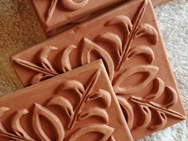 Терракотовая плитка — возрождаем традиции | Ярмарка Мастеров - ручная работа, handmade