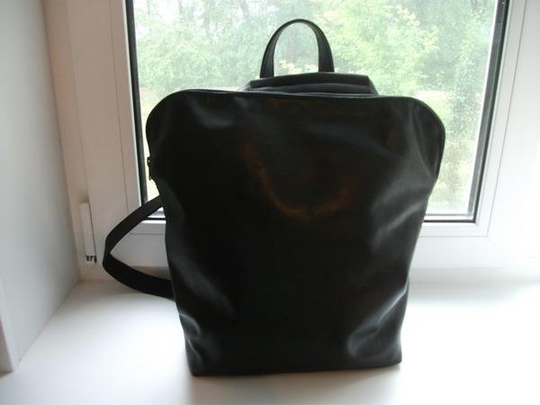 Сумка-рюкзак - трансформер : Все мое всегда со мной...2, черная | Ярмарка Мастеров - ручная работа, handmade