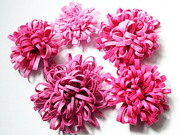 Как быстро и легко сделать красивый цветок из фетра!   Ярмарка Мастеров - ручная работа, handmade
