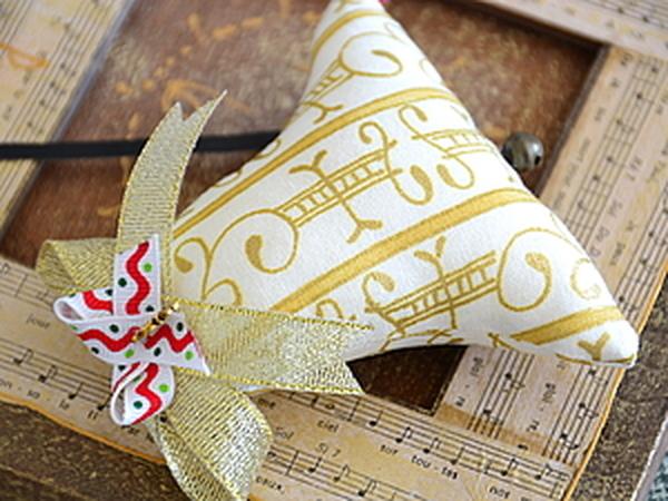 Украшение на елку – шьем новогодний колокольчик   Ярмарка Мастеров - ручная работа, handmade
