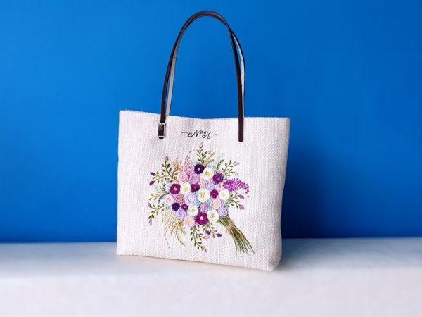 Как сшить летнюю сумку   Ярмарка Мастеров - ручная работа, handmade