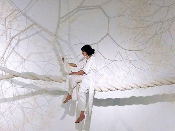 Инсталляции из канатов бразильской художницы Janaina Mello Landini   Ярмарка Мастеров - ручная работа, handmade