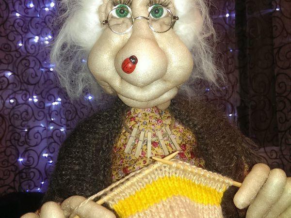 Бабушка-Домовиха...кто она? | Ярмарка Мастеров - ручная работа, handmade