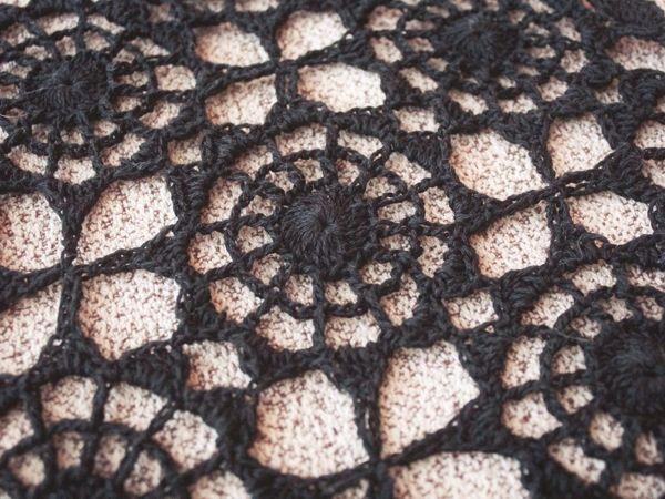 Вяжем крючком мотив платья «Женский секрет» от Victoria Semkina Atelier | Ярмарка Мастеров - ручная работа, handmade