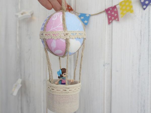 Как сделать Воздушный шар своими руками | Ярмарка Мастеров - ручная работа, handmade