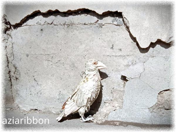 Кожаная сумка  «Белая ворона» | Ярмарка Мастеров - ручная работа, handmade