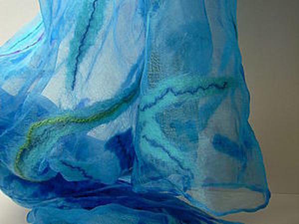 Валяем на шёлке | Ярмарка Мастеров - ручная работа, handmade