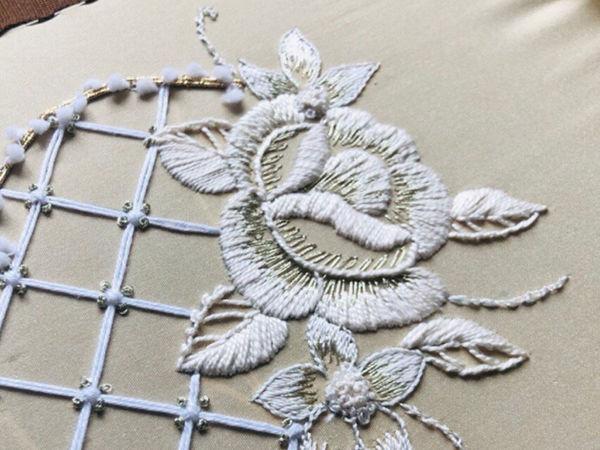 Курс  «Основы интерьерной вышивки» | Ярмарка Мастеров - ручная работа, handmade