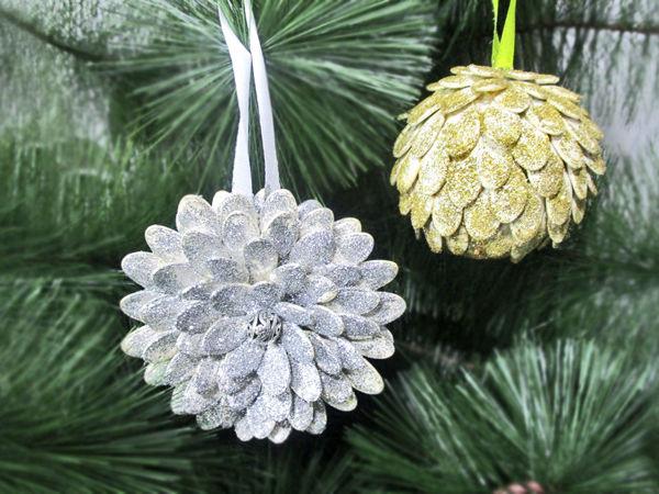 DYI Video: 2 Ideas for Christmas Decorations | Livemaster - handmade