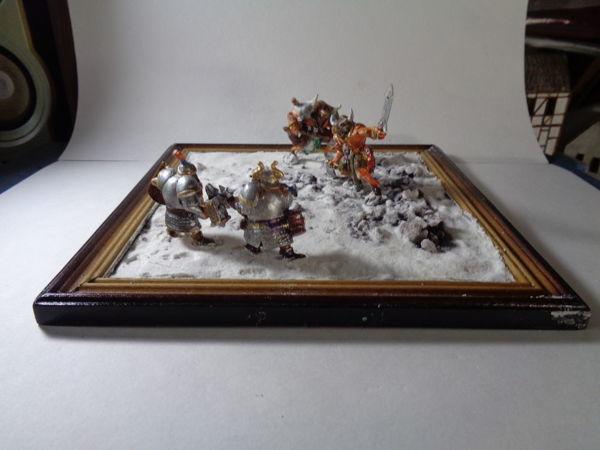 Создание диорамы в стиле фэнтези/Снег на диораме — Видео Мастер-класс | Ярмарка Мастеров - ручная работа, handmade