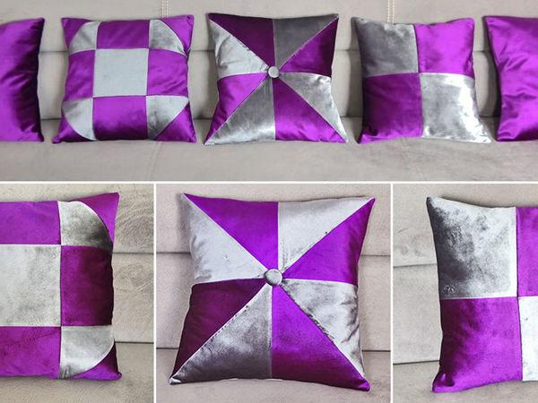 Видео мастер-класс: Шьем декоративные подушки   Ярмарка Мастеров - ручная работа, handmade
