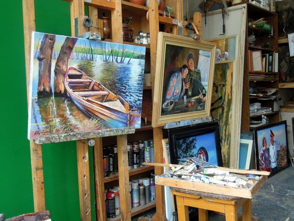 Мир художника | Ярмарка Мастеров - ручная работа, handmade