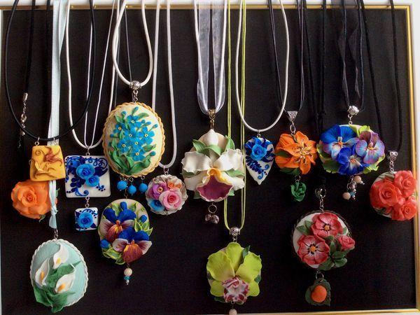 Весенняя акция: цветы для прекрасных дам! Распродажа в магазине украшений! | Ярмарка Мастеров - ручная работа, handmade