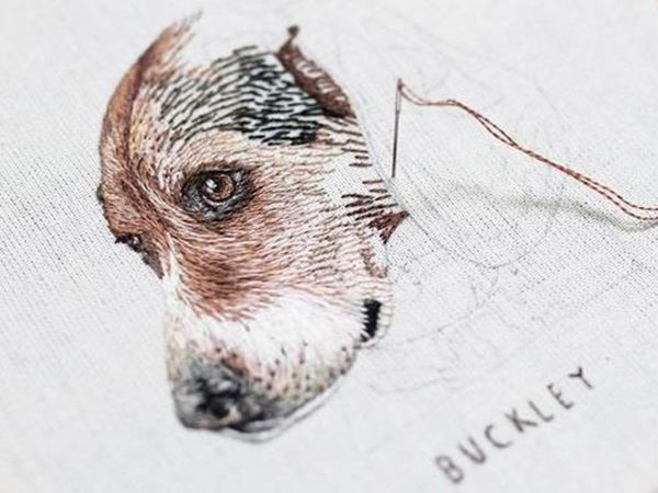 Emillie Ferris and Her Amazing Embroidery | Livemaster - handmade