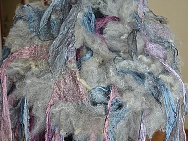 Со-творение шарфа-боа