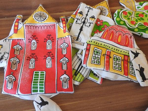 Делаем интерактивный развивающий коврик «Дом, родной дом» | Ярмарка Мастеров - ручная работа, handmade