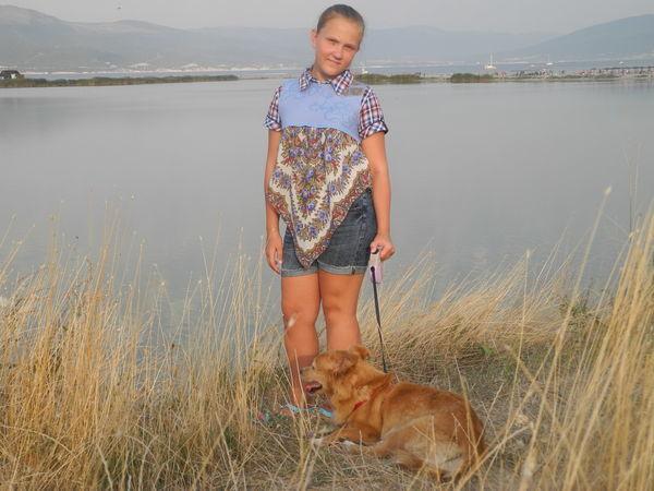 Творим вместе с ребенком: туника из павловопосадского платка с валяной кокеткой   Ярмарка Мастеров - ручная работа, handmade