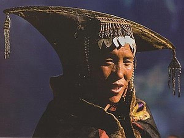 Удивительные головные уборы женщин Гималайского региона! | Ярмарка Мастеров - ручная работа, handmade
