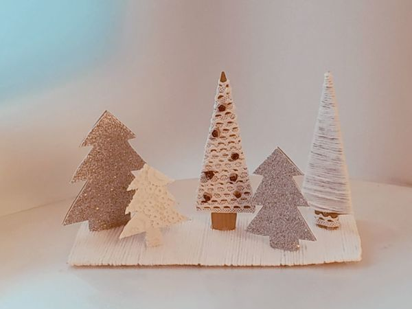 Руки не для скуки! Зимняя композия! | Ярмарка Мастеров - ручная работа, handmade