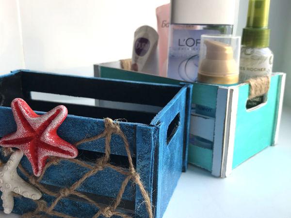 DIY Ящик из картона легко/ Видео мастер-класс | Ярмарка Мастеров - ручная работа, handmade