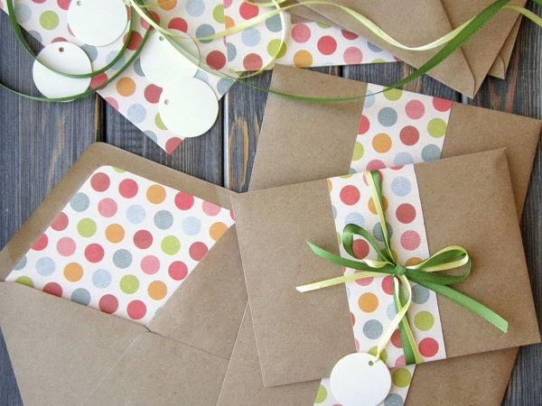 Делаем лайнеры для конвертов   Ярмарка Мастеров - ручная работа, handmade