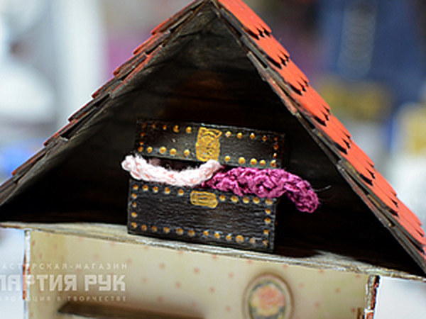 Сундук для кукольных сокровищ! | Ярмарка Мастеров - ручная работа, handmade